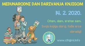 Biskupijska knjižnica Varaždin uz spomendan sv. Valentina pridružuje se obilježavanju Međunarodnog dana darivanja knjigom