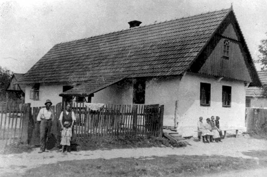 Sudetina rodna kuća u Staroj Ploščici